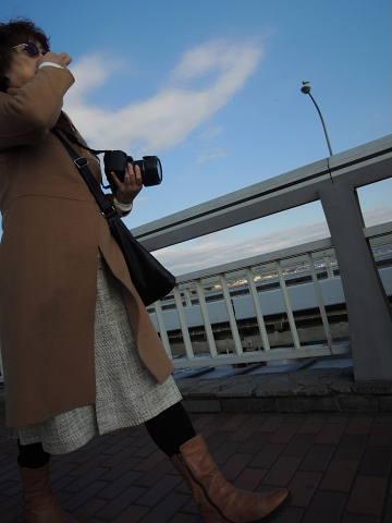 江の島弁天橋を渡って(2)